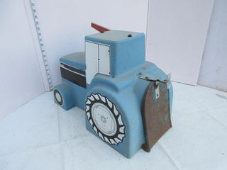 MAIlBOX   TRACTOR  BlUE