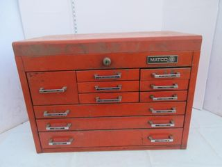 TOOlBOX   MATCO  RED