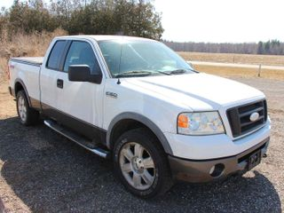 2007 FORD F150 4WD TRUCK   327 585 KMS