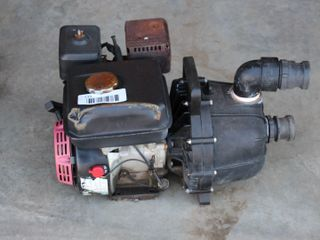 GAS ENGINE WITH HYDRO 2  PUMP