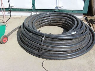 lARGE ROll OF 1 1 2  PlASTIC PIPE