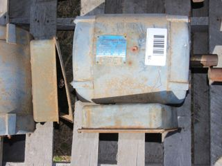 GOUlD 5HP  SINGlE PHASE ElECTRIC MOTOR