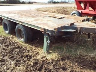 Heavy Duty trailer  Twin axle  14 x8
