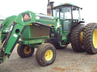 John Deere 4850 with Koyker loader