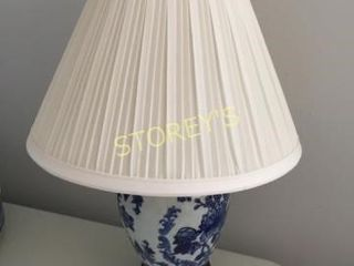 14  Blue Table lamp