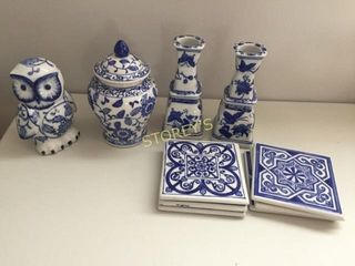 Coasters  Candle Stick Holders  Etc