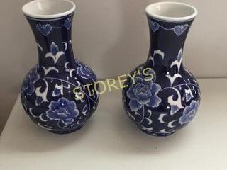 2 Blue Vases   9