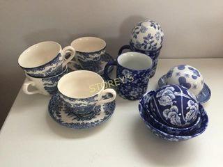 England Tea Cups   Saucers  Etc