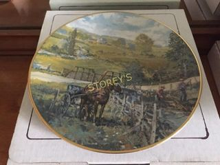 Christian Bell Collectors Plate w  Certificate