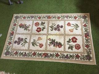Flower Area Mat   32 x 48