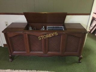 Antique Clairtone Record Playing Cabinet