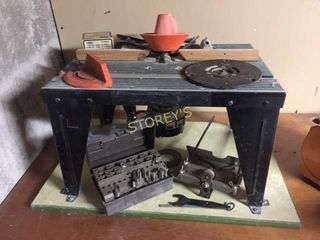 Sears Router   Table   unknown