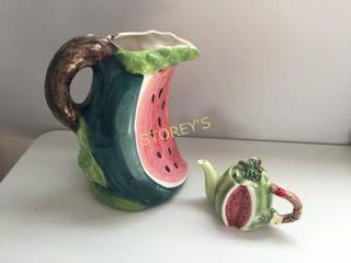 Watermelon Water Fug   Tea Pot