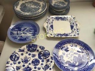 Churchill  Etc  Dishes  Plates  Etc