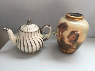 Tea Pot   Vase