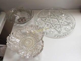 3 Serving Bowls   Platters