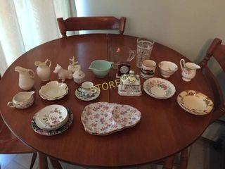 Coalport Collectors House  Tea Cups  Dishes  Etc