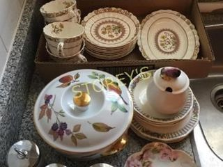Spode Dishes  serving Bowl  Etc