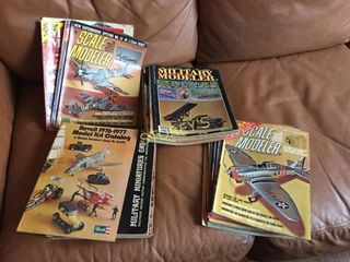 Qty of Old Car   Plane Magazines