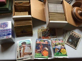 Qty of Collectors Cards  Beatles  Civil War  NFl