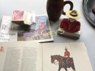 RCMP Figurine  Book  Mug  Etc