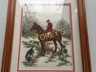 Horse Crochet Picture