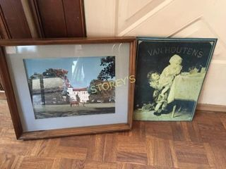 Tin Picture   Framed Picture