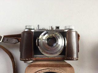 Wirgin Gewironar Compur Camera w  Case