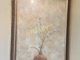 Framed Vase Picture   28 x 40