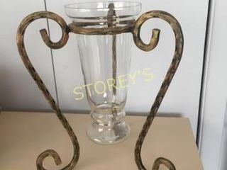 Vase w  Decorative Holder   13