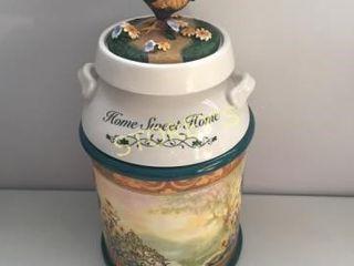 Bradford Exchange Sweet Home Cookie Jar