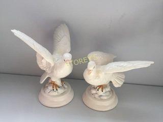 Pair of Bird Figurines
