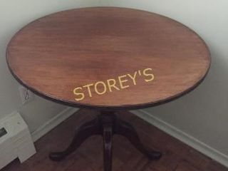 30  Round Dining Table   28  High