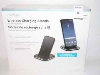 2PACK UBIOlABS WIRElESS CHARGING STANDS FOR