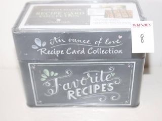 FAVORITE RECIPES CARD COllECTION