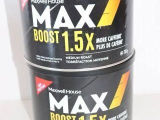 lOT OF 2X730G MAXWEll HOUSE MAX BOOST MEDIUM