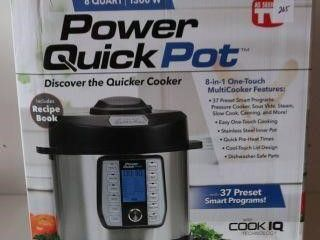 POWER QUICK POT 8 IN 1 ONE TOUCH MUlTICOOKER 8