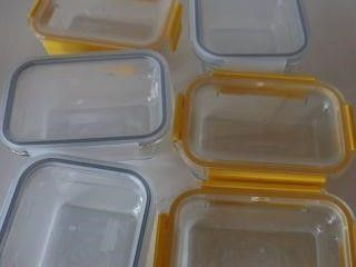 lOT OF GlASSlOCK CONTAINER SET