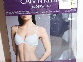 2PACK CAlVIN KlEIN WOMENS BRAS SIZE 34B