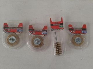 lOT   WIRE BRUSHES