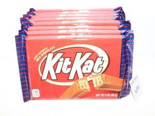 lOT OF 8 KITKAT 58G CHOCOlATE BARS BB  12 2020