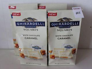 lOT OF 4X173 8G GHIRARDEllI WHITE CHOCOlATE