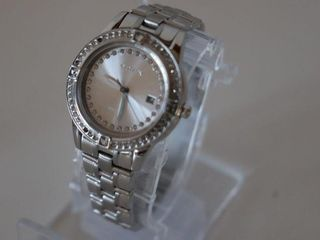 CITIZEN ECO DRIVE SIlOHUETTE CRYSTAl ACCENT WATCH