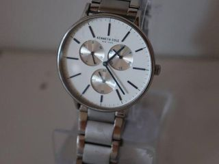 KENNTH COlE MENS CHRONOGRAPH STAINlESS STEEl