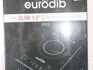 EURODIB SlIM 1 5  INDUCTION COOKER EG13