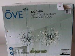 OVE SOPHIA lED CHANDElIER lIGHT