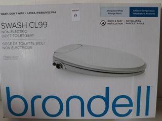 BRONDEll SWASH Cl99 NON ElECTRIC BIDET TOIlET