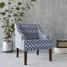 Porch   Den Cammy Trellis Swoop Accent Chair