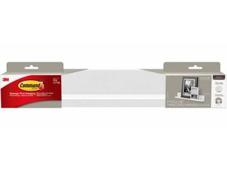 Command Picture ledge w  10 Mounting Strips