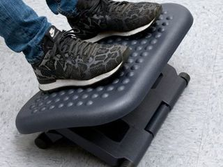 Adjustable Height  amp  Tilt Foot Rest